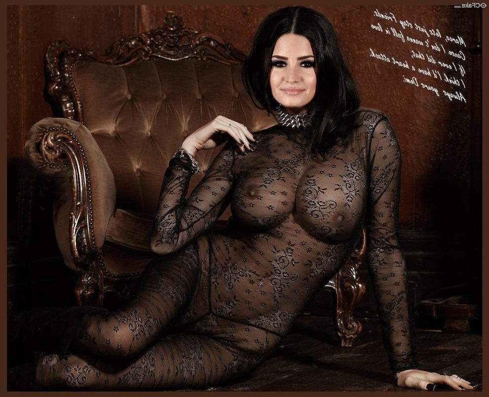 Demi Lovato fakes 5 - Demi Lovato Nude Porn Fake Sex Images