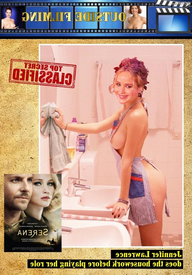 Jennifer Lawrence nude 8 - Jennifer Lawrence Nude XXX Porn Fake Photos