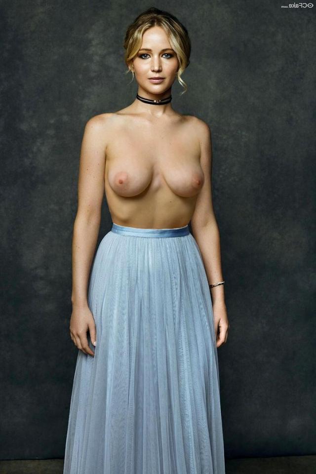 naked Jennifer Lawrence 19 - Jennifer Lawrence Nude XXX Porn Fake Photos