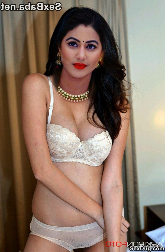Hina Khan boobs sex 2 - TV Actress Hina Khan Nude Pussy Sexy Photos