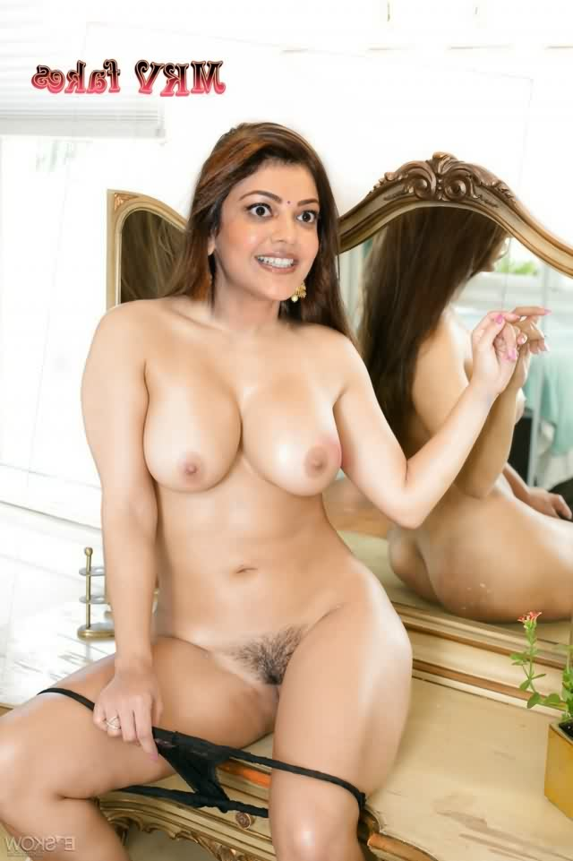 Kajal Agarwal naked xxx 8 - Kajal Aggarwal Nude Fake Sexy Porn Photos